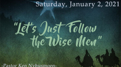 Let's Just Follow the Wise Men